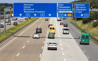 Traffic Highway Frankfurt